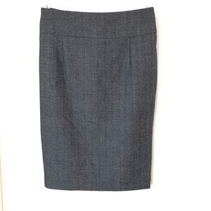 Mossimo Gray lined Pencil Skirt Size 2